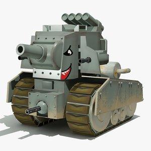 max ny cartoon tank