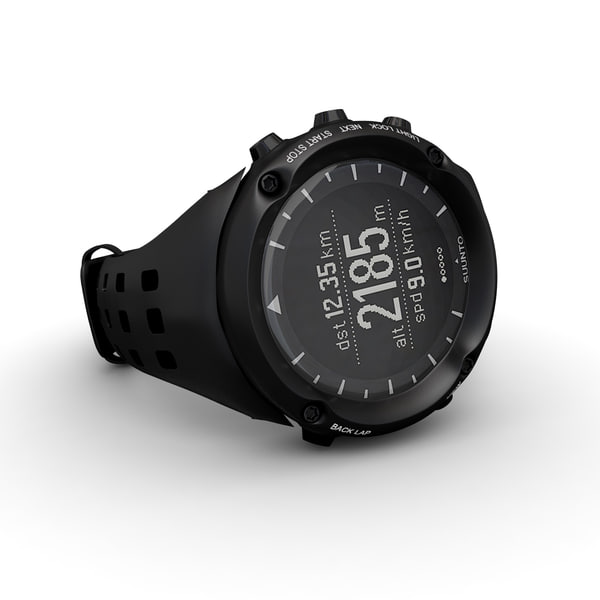 suunto ambit watches 3d model