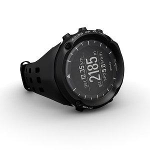 suunto ambit watches 3d model