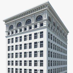 3ds max city building
