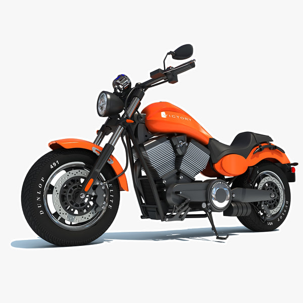 3d model polaris victory judge motorcycle