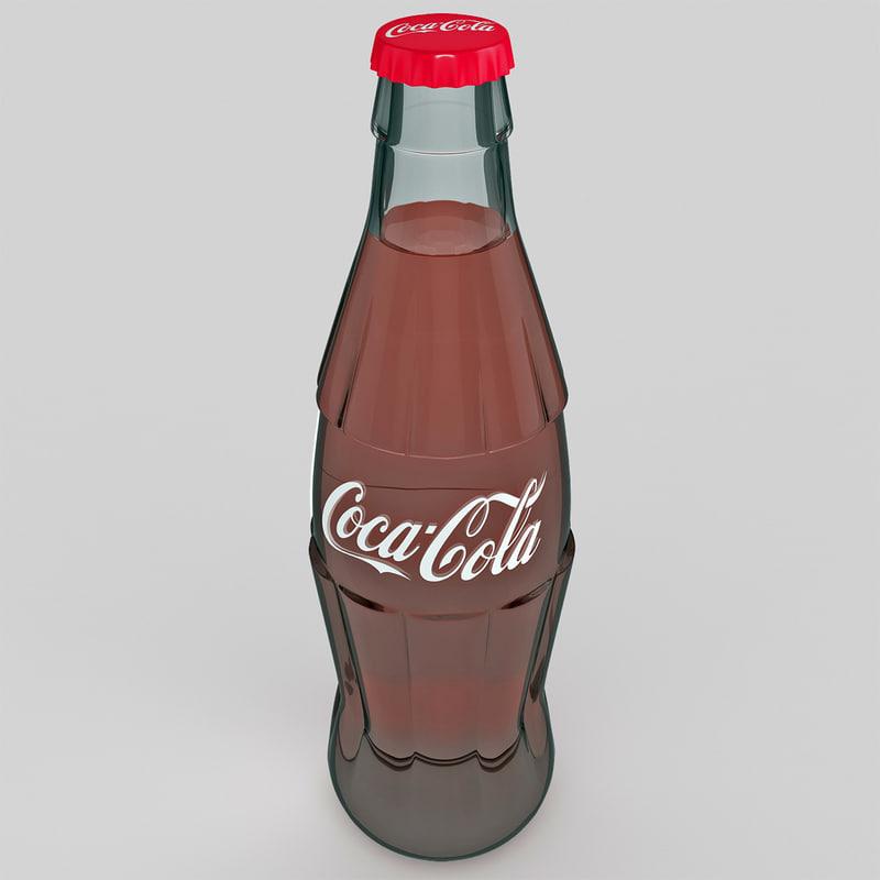 max coca cola glass bottle
