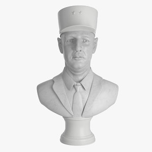 max bust charles gaulle