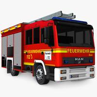 German Firetruck