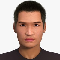 Jin (Asian man) No Rig