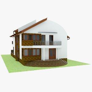 house garden interior 3d