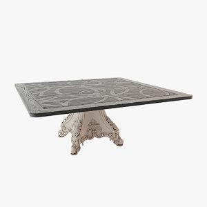 3dsmax classic table chelini ftpo