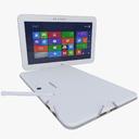 Samsung ATIV Tab 3 3D models