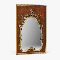 3d model classical mirror