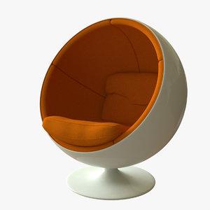 max ball chair eero aarnio