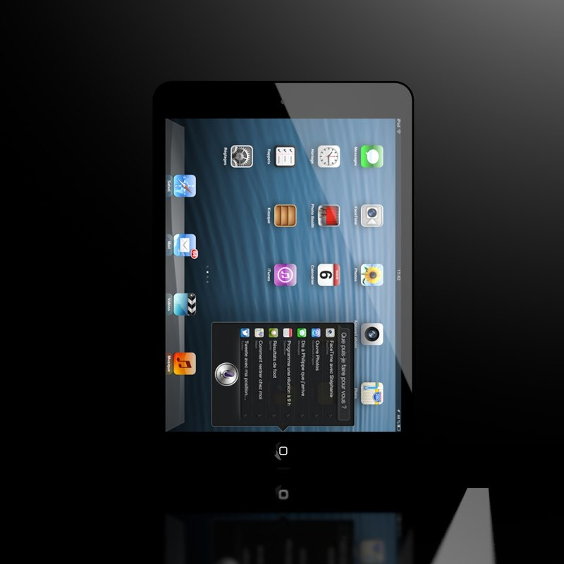 3d new ipad mini