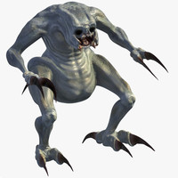 monster creature 3d max