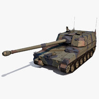 3ds korean howitzer k9 thunder