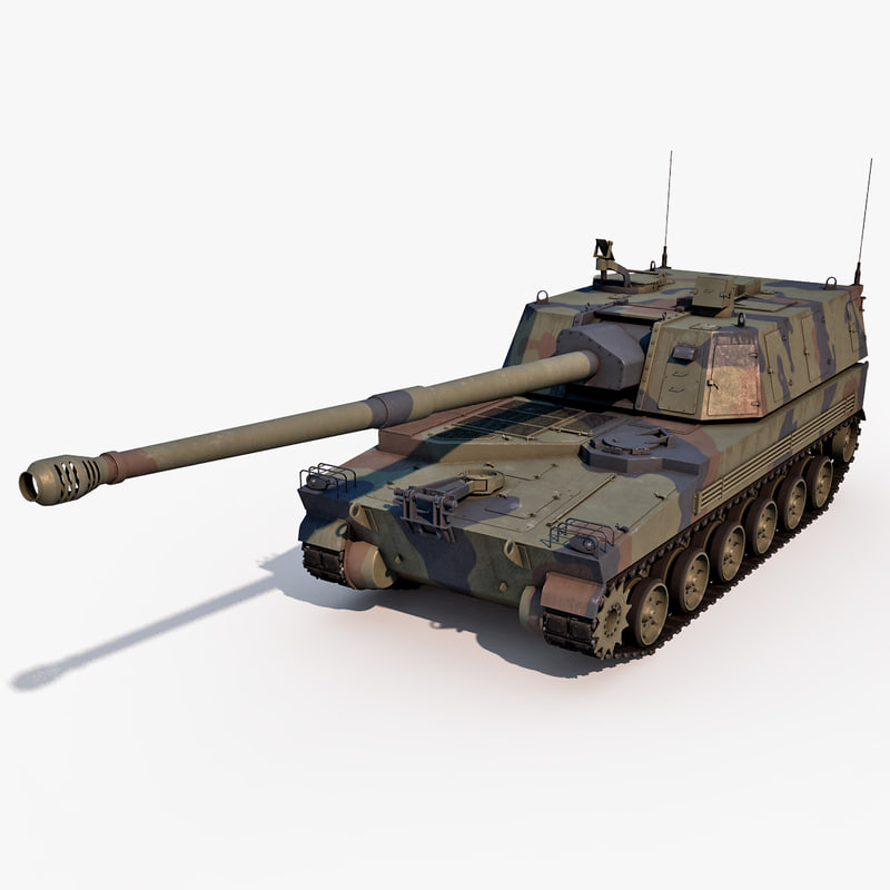 3ds korean howitzer k9 thunder