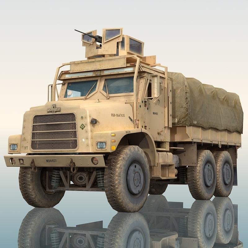 max oshkosh mtvr military truck