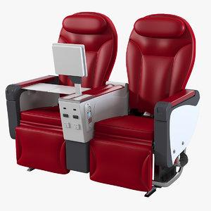 timco aircraft premium economy 3d model