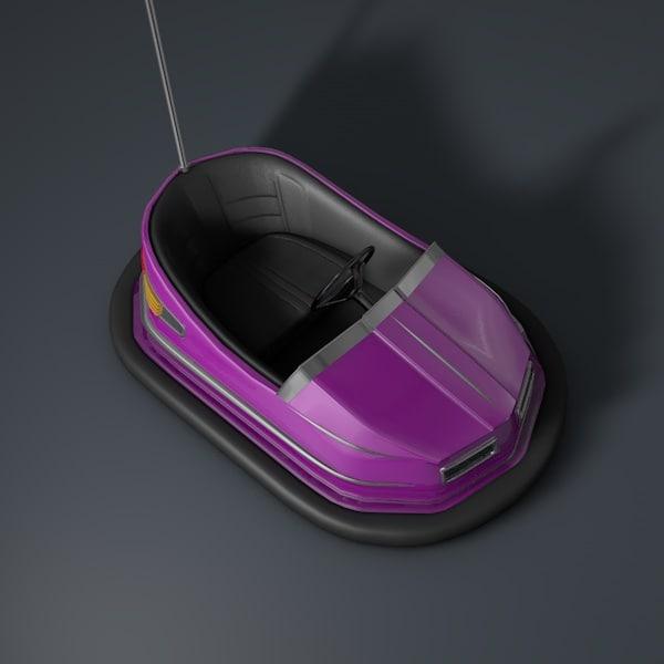 3d model bumper car
