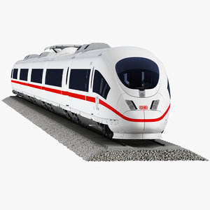 ice 3 passenger train 3d model