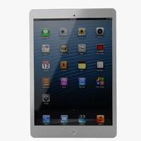 apple ipad mini 3d model