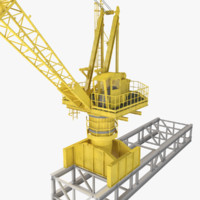 Industrial Deck Crane