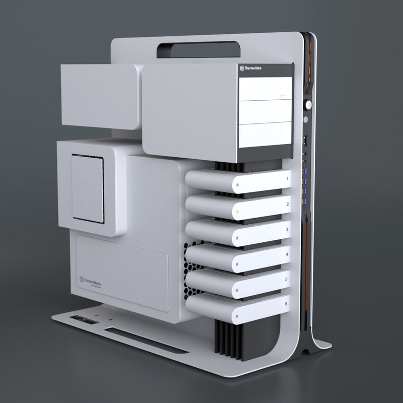 3ds max pc chassis level 10