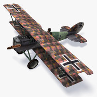 Pfalz D.XII Low Poly