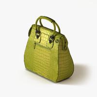 handbag crocodile bags 3d obj