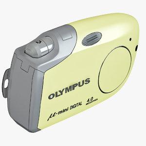 max olympus m mini yellow