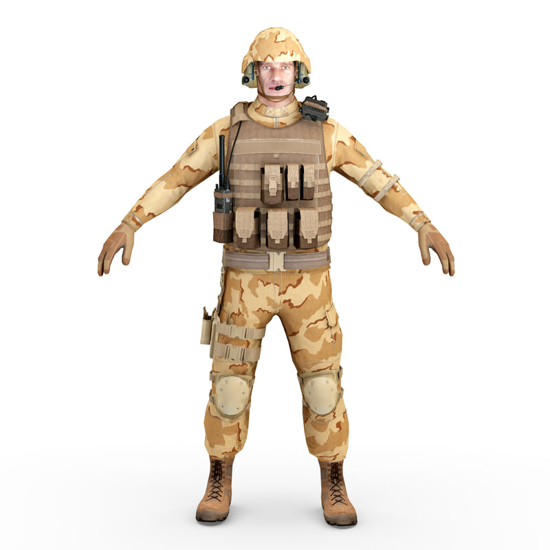sas soldier 2 static 3d obj