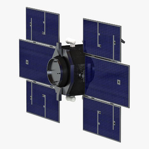 3d model of satellite cloudsat