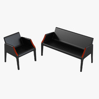 kartell magic hole sofa chair 3d max