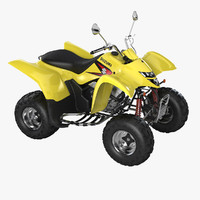 Suzuki LT-Z250 QuadSport ATV