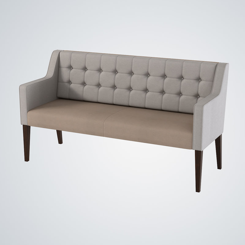 3d model sofa morgan