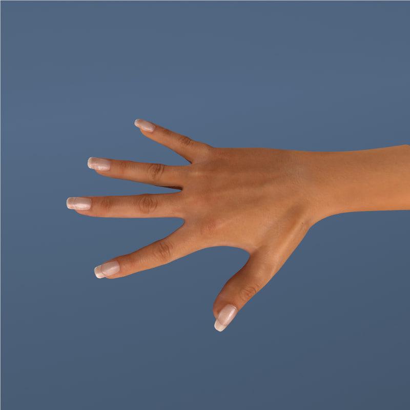 max realistic hand female