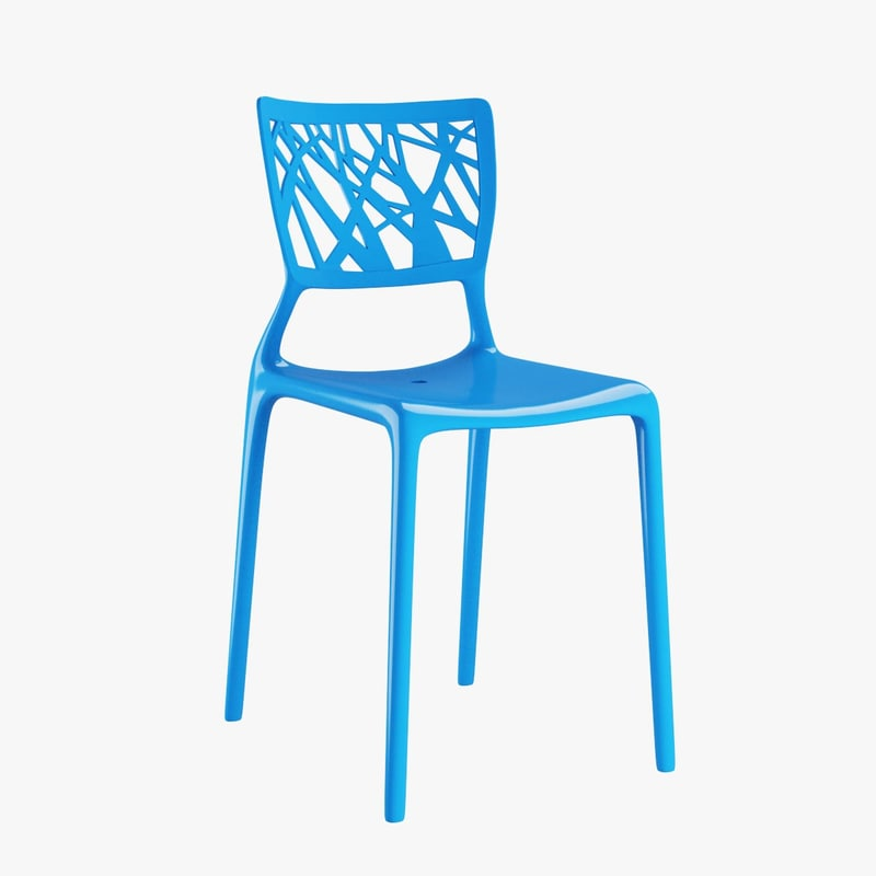 bonaldo viento chair 3d x