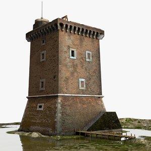 medieval tower xv century max