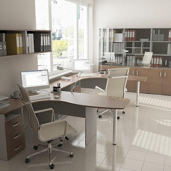 3d max office design furniture