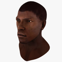 Black Male Head