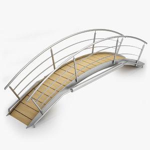 3d swimming pool bridge -