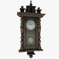 clock classic 3d model