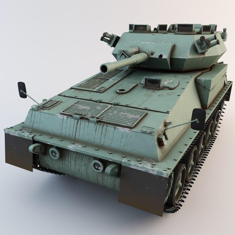 british fv101 scorpion tank 3d 3ds