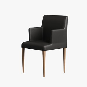 wooden chair arm wood max