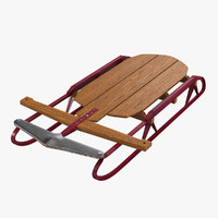 Vintage Flexible Flyer Snow Sled