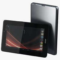 3d acer iconia tab