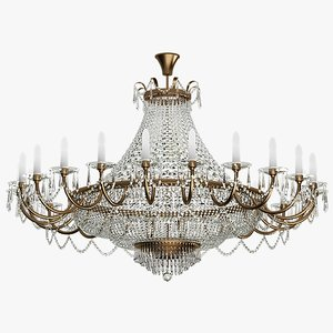 3d chandelier lighting