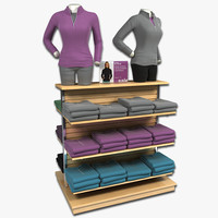 Womens Long Sleeve Sweatshirt Display