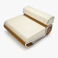3d model tambao sofa
