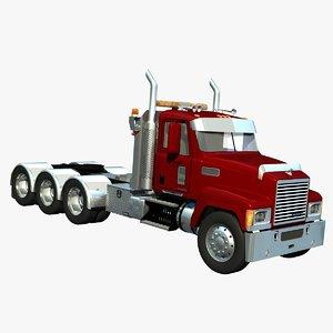 mack chu truck heavy 3d lw