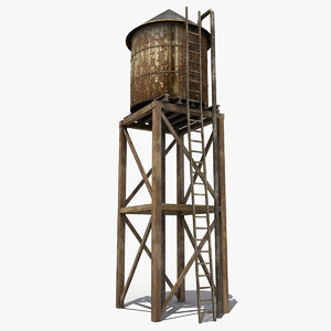 max wooden water tower