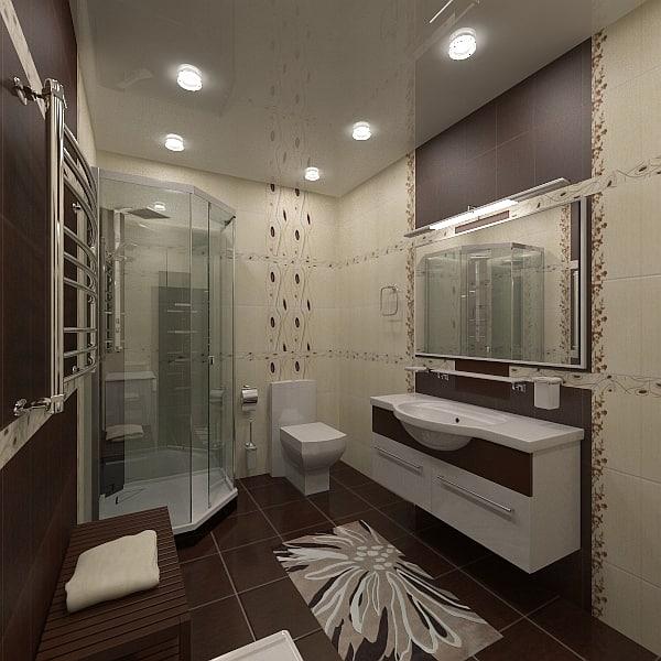 3d bathroom interior 2